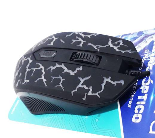 Imagem de Mouse Óptico Com Fio Inova Mou-6911 - Preto