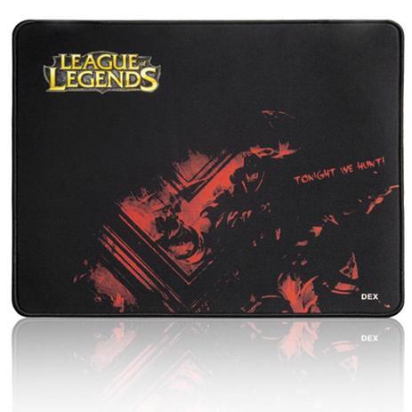 Imagem de Mouse pad Gamer  DEX preto League Of Legends