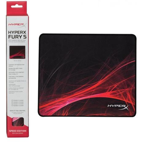Imagem de Mouse Pad Hyperx Fury S Gaming Médio Speed 36cm X 30cm - HX-MPFS-S-M