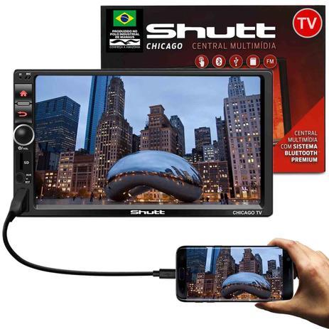 Imagem de MP3 MP5 Player Automotivo Shutt Chicago TV 7