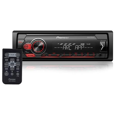 Imagem de Mp3 Player Mvh-S118ui Pioneer Mixtrax, Android, Iphone, Usb, Controle