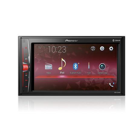 Imagem de MP3 Player Pioneer MVH-A218BT 2Din 6,2 Polegadas USB Bluetooth FM AUX  Interface Android Iphone Entrada Câmera de Ré