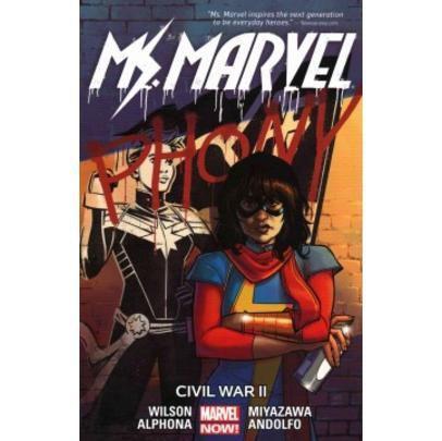 Imagem de Ms. Marvel Vol. 6- Civil War II