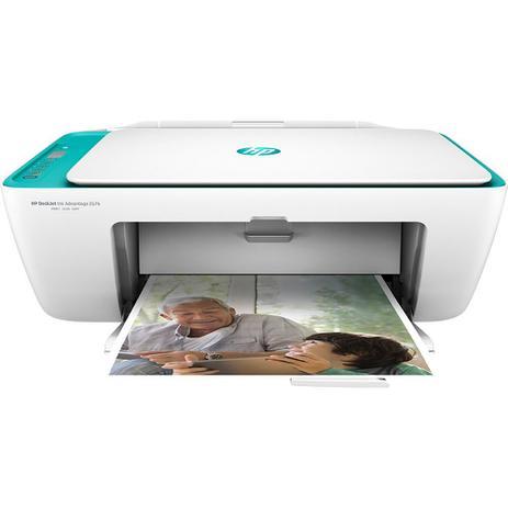 Imagem de Multifuncional HP DeskJet Ink Advantage 2676, com Wi-fi