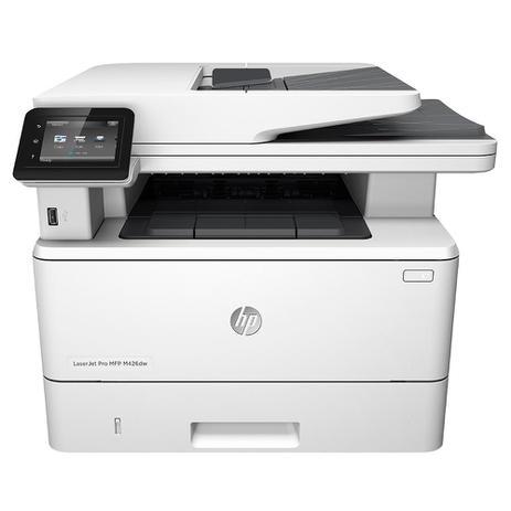 Imagem de Multifuncional HP Laserjet M426DW, Laser Monocromática, USB, Wi-Fi - 110V