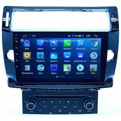 Multimídia Citroen C4 Hatch Pallas Android 8 1 10p - Lelong
