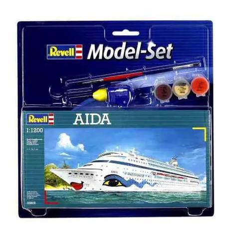 Imagem de Navio Aida - 1:1200 - REV65805 - Kit Completo para Montar