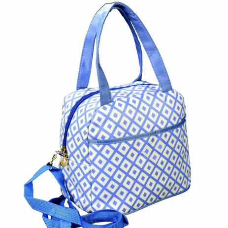 a83f3de3c Necessaire Feminina Bolsa Térmica Azul CBRN06175 - Commerce brasil ...