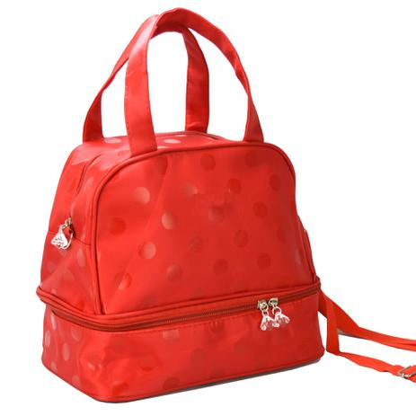 96760dad6 Necessaire Feminina Bolsa Térmica Vermelho CBRN05376 - Commerce brasil