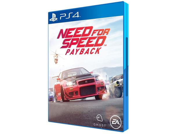 Need For Speed: Payback para PS4 - EA - PS4