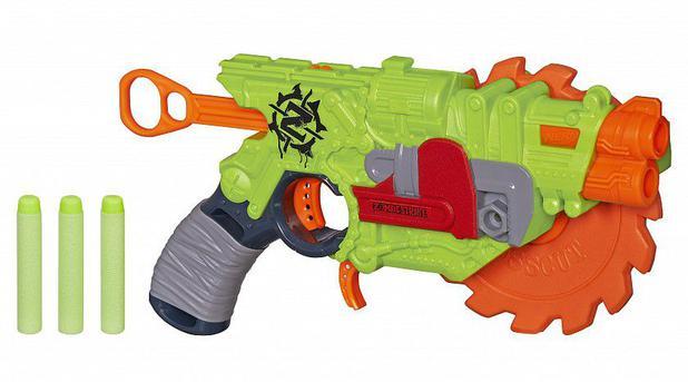 ef0b447aaa Nerf zombie lancador crosscut - Hasbro - Lançadores de Dardos ...