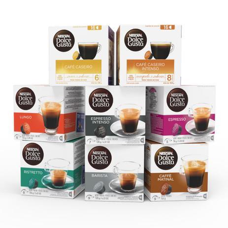 Imagem de Nescafé Dolce Gusto Kit de Cafés - 128 cápsulas