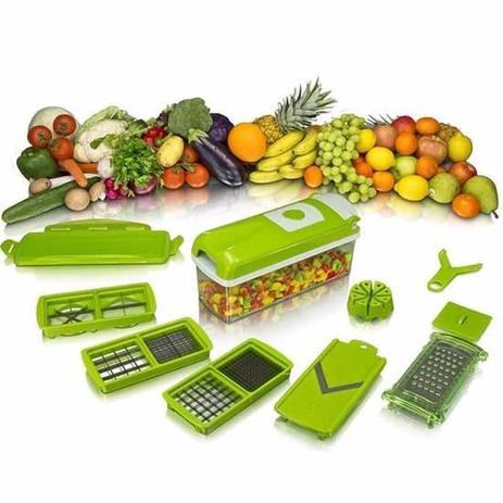 Imagem de Nicer Dicer Plus Cortador Fatiador Legumes Verduras Frutas - Nicer