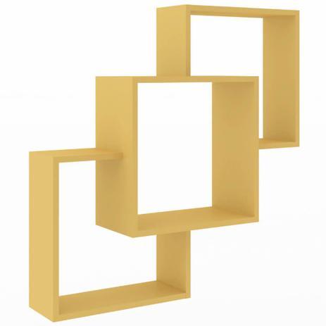 Imagem de Nicho Composto Decorativo Amarelo