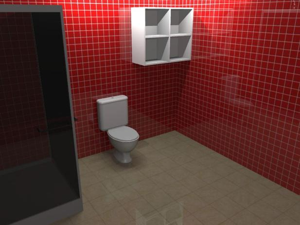 Nicho Para Banheiro 4 Vãos Hv 484 Home Vision