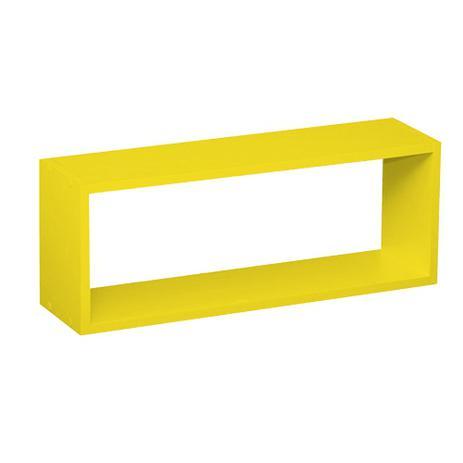 Imagem de Nicho para Parede Amarelo L 60 x P 16 x A 23 cm