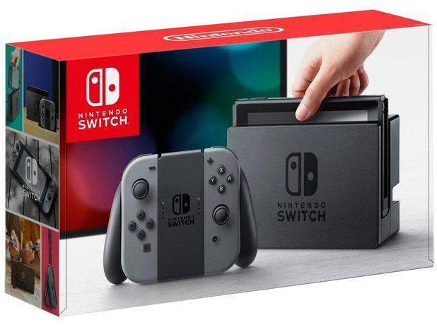 Imagem de Nintendo Switch 32GB HAC-001-01 1 Controle Joy-Con