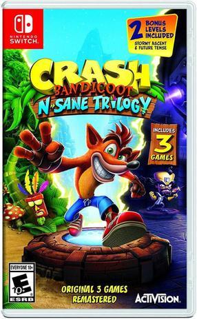 Imagem de Nintendo Switch - Crash Bandicoot N Sane Trilogy