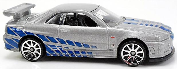Delightful Nissan Skyline GT R (R34)   Carrinho   Hot Wheels   2 FAST 2 FURIOUS