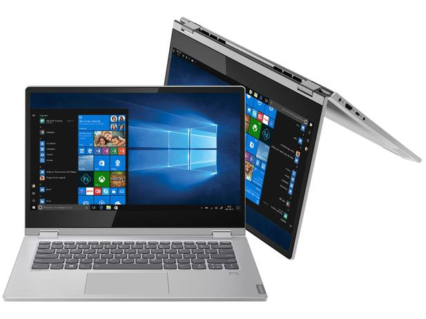 Notebook 2 em 1 Lenovo Ideapad C340-14IWL - Intel Core i7 8GB SSD 256GB Touch Screen 14