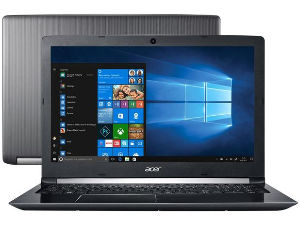 notebook acer aspire 5 a515 51 51ux intel core i5 8gb 1tb led 15 6 windows 10 notebook. Black Bedroom Furniture Sets. Home Design Ideas