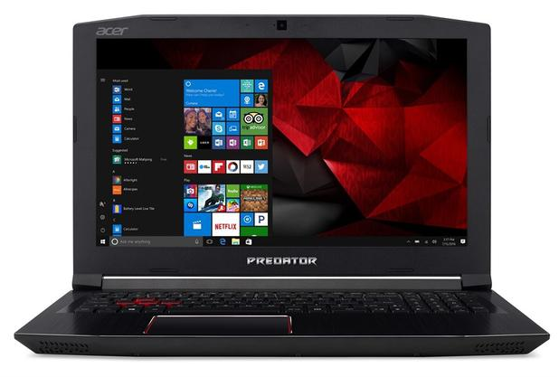 Notebook Acer Predator Helios 300 G3-572-75L9 Intel Core i7 16GB 2TB HD GTX 1060 6GB Win10 15,6""