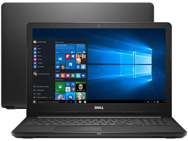 423dd4f60 Notebook Dell Inspiron 15 i15-3567-A50P - Intel Core i7 8GB 2TB 15