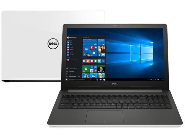 Notebook Dell Inspiron 15 i15-5566-A40B Série   - 5000 Intel Core i5 8GB 1TB LED 15,6 Windows 10