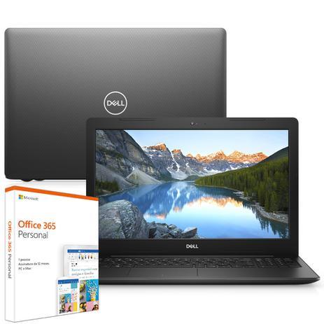 Imagem de Notebook Dell Inspiron i15-3583-M5XF 8ª Geração Intel Core i7 8GB 2TB 15.6