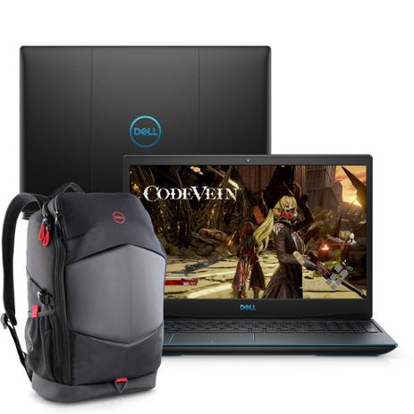 Imagem de Notebook Gamer Dell G3-3590-m20bp NVIDIA GeForce GTX 1650 9ª Ger. Intel Core i5 8GB 1TB 128GB SSD 15.6
