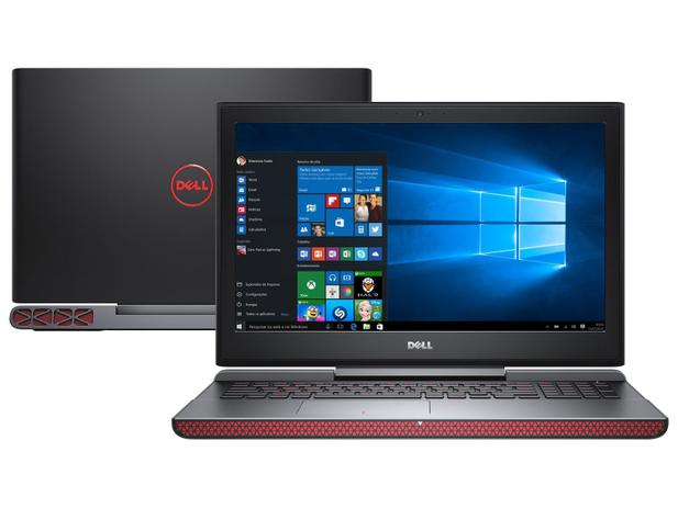 Notebook Gamer Dell Inspiron I15 7567 A30p Intel Core I7