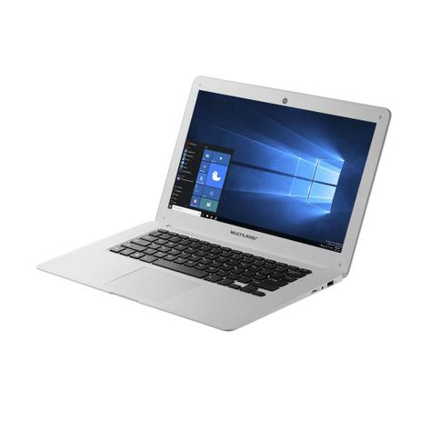 Notebook Legacy 14 Pol. 64Gb (32 32Sd) Windows 10 2Gb Ram Quad Core Branco Multilaser - PC110