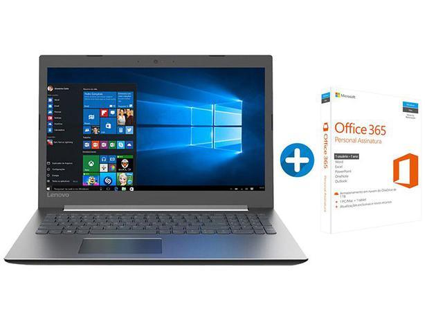 e854d844c Notebook Lenovo Ideapad 330 Intel Core i7 8GB 1TB - LED 15