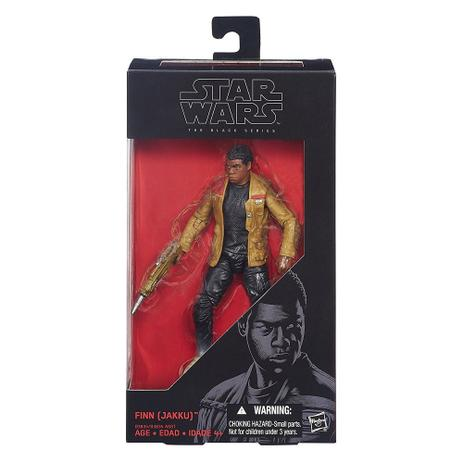 bff8f48fbfc2 Novo Boneco Star Wars The Black Series Finn Jakku B3835 - Hasbro ...