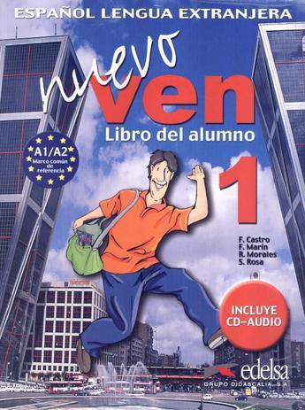 Imagem de Nuevo ven 1 libro del alumno + cd audio - Edelsa (Anaya)