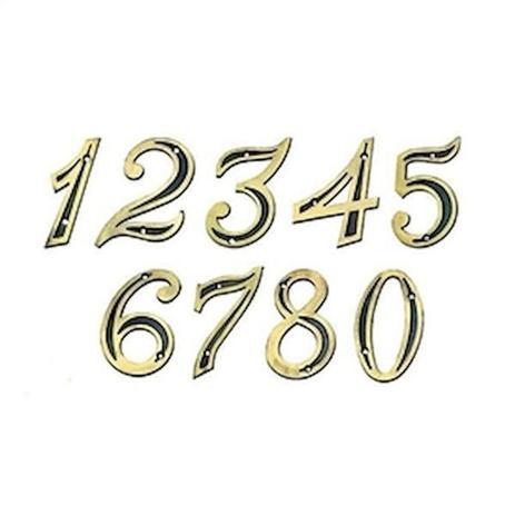 Imagem de Número Residencial 3 (Três) - Isero