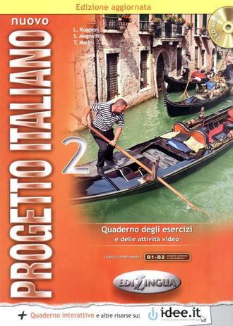 Imagem de Nuovo progetto italiano 2 - quaderno degli eserzici + cd - edizione aggiornata