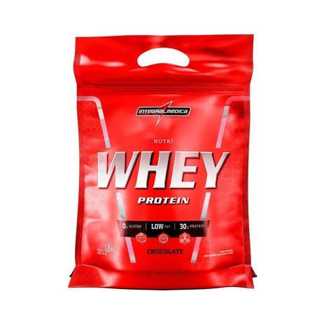 Imagem de NUTRI WHEY INTEGRALMEDICA 1.8kg REFIL - CHOCOLATE