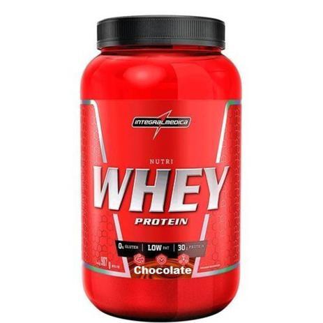 Imagem de Nutri Whey Protein - 907g Chocolate - IntegralMédica