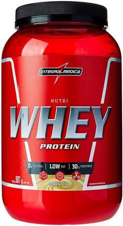 Imagem de Nutri Whey Protein Baunilha, IntegralMedica, 907g