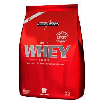 Imagem de Nutri whey protein refil chocolate 907g
