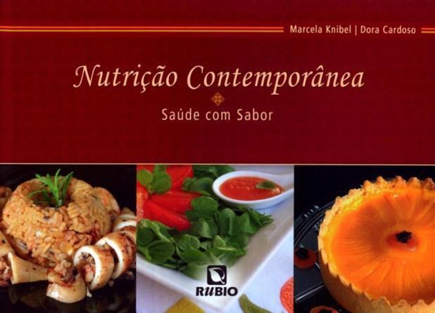 Imagem de Nutricao contemporanea - saude com sabor - Rubio editora ltda