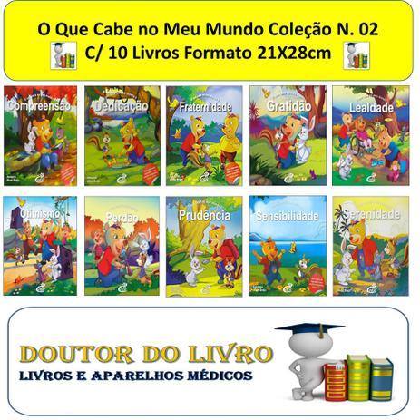 Imagem de O Que Cabe No Meu Mundo Valores Coleção N. 02 C/ 10 Livros
