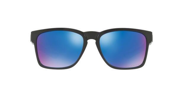bc57e1ede7 Oakley CATALYST OO9272L L1 Preto Polido Lente Polarizada Azul Tam 56 ...