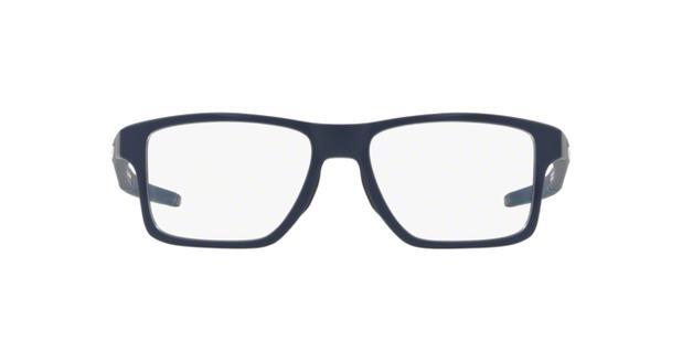 26c0a797d Menor preço em Oakley CHAMFER SQUARED OX8143 814304 Azul Lente Transparente  Tam 54