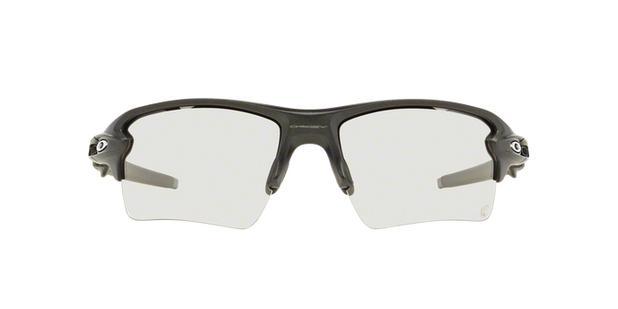 ce6d3545d1e81 Oakley FLAK 2.0 XL OO9188 16 Cinza Lente Fotocrômico Transparente a Preto  Tam 59