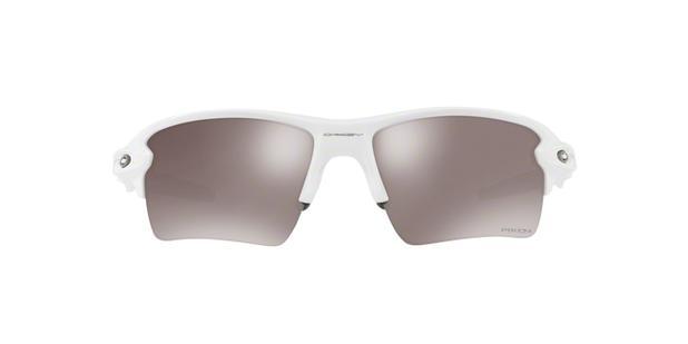 644152e2c9 Oakley FLAK 2.0 XL OO9188 76 Branco Polido Lente Polarizada Prizm Preto Tam  59