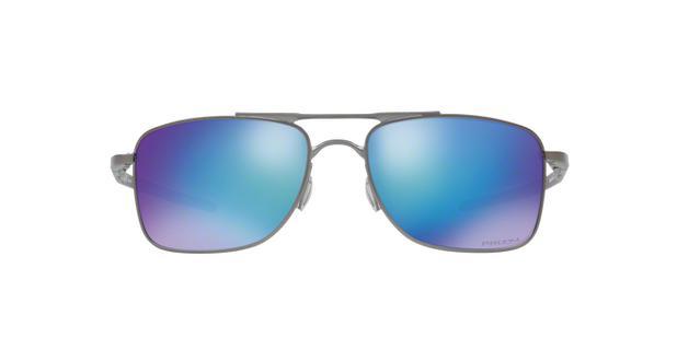 Oakley GAUGE 8 L OO4124 06 Grafite Cinza Lente Polarizada Azul Prizm Safira  Tam 62 cb4641be1e