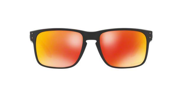 efd230c5e Oakley HOLBROOK OO9102 E2 Preto Fosco Lente Vermelho Prizm Ruby Tam ...