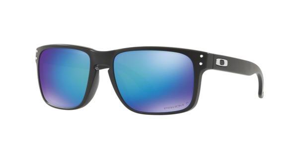 81a482ad010cc Oakley Solar OO9102 9102F0 Preto Lente Safira Prizm Polarizada Tam ...